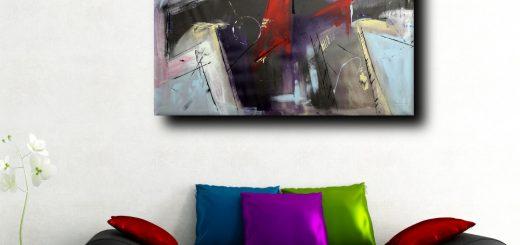 quadri astratti fatti a mano b46 520x245 - dipinti astratti moderni