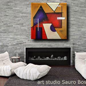 quadri astratti geometrici b22 300x300 - quadri moderni geometrici 120x120