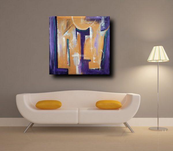 quadri astratti geometrici b23 600x527 - quadri moderni geometrici 120x120 olio su tela