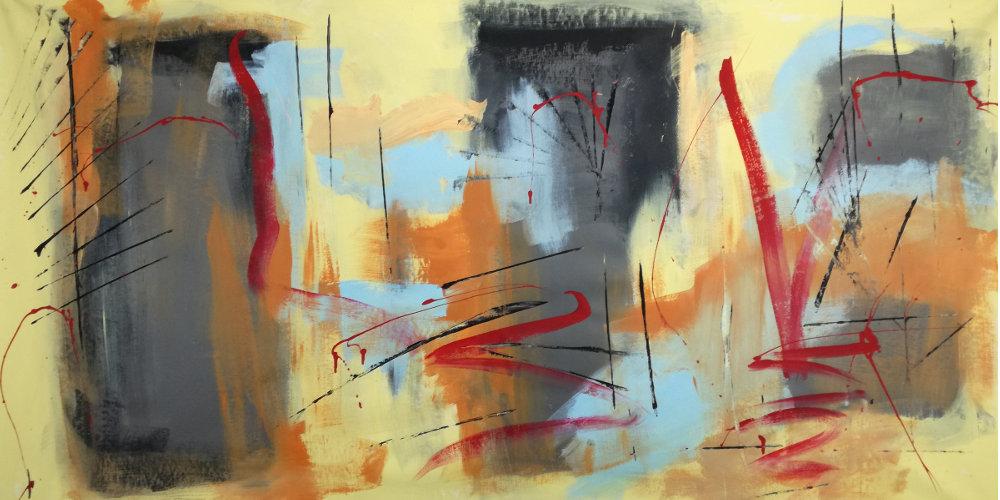 quadri astratti moderni b41 - quadri olio su tela moderni