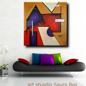 quadri astratti moderni geometrici b22 300x300 - QUADRI ASTRATTI D'AUTORE