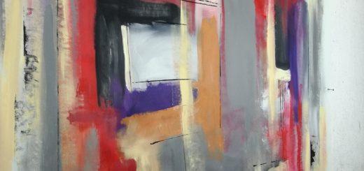 quadri astratti olio su tela b28 520x245 - vendita quadri moderni