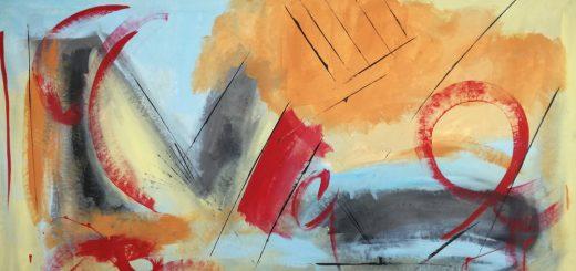 quadri astratti olio su tela b38 520x245 - quadri per camera da letto