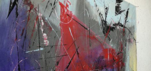 quadri astratti rosso nero b47 520x245 - quadri grandi da parete
