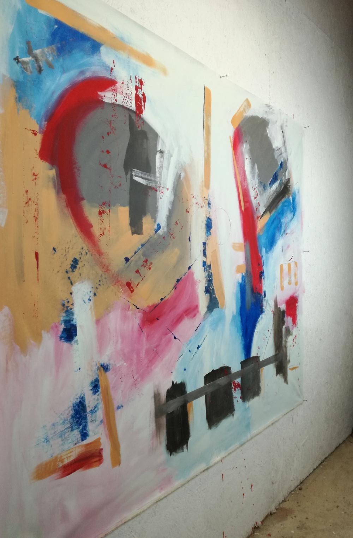 Dipinti Moderni Grandi Dimensioni 155x130 Sauro Bos