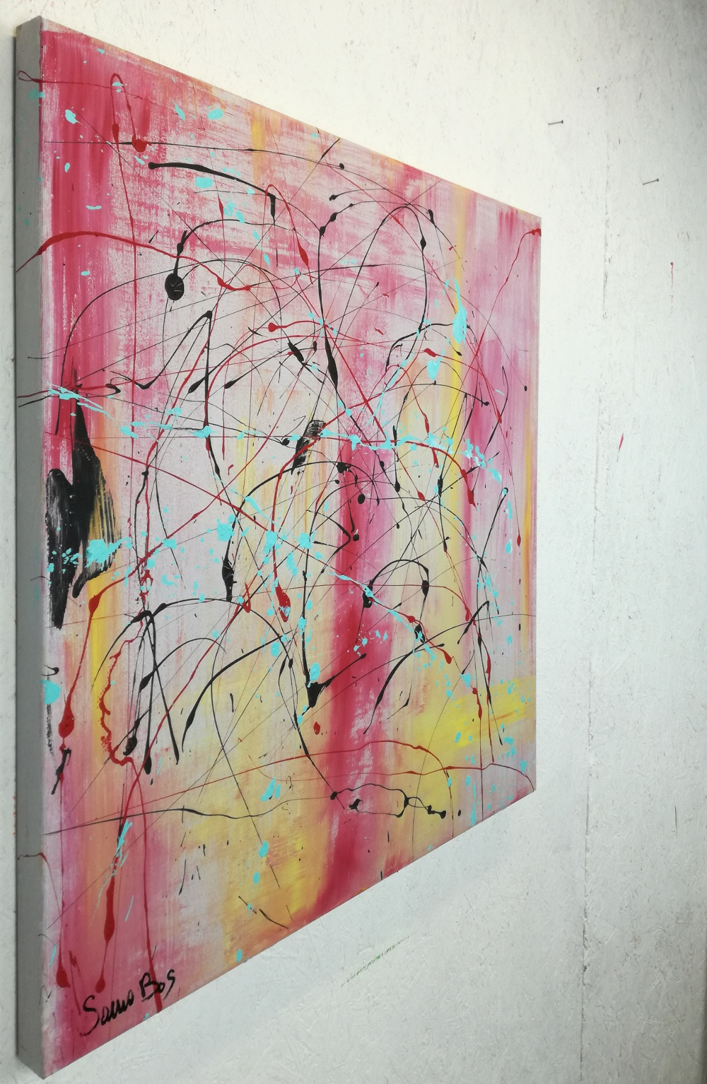 quadri moderni astratti-70x70 | sauro bos