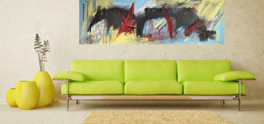 quadri moderni astratti b48 520x245 - dipinti colorati moderni su tela