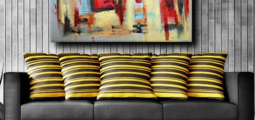quadri moderni astratti olio su tela b34 520x245 - quadri moderni geometrici