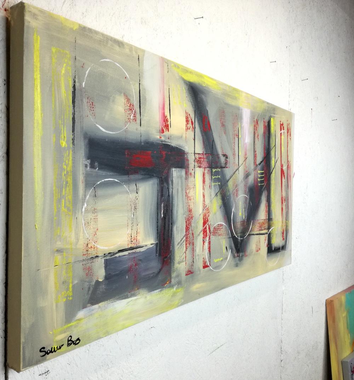 quadri moderni su tela colorati grandi dimensioni 120x60 | sauro bos