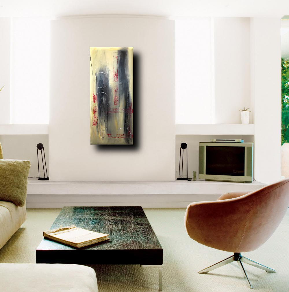 quadri moderni fatti a mano 90x40 | sauro bos