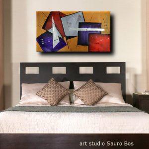 quadri moderni per camera da letto b25 300x300 - quadri moderni fatti a mano geometrici 120x60