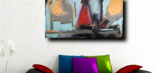 quadri moderni su tela b31 520x245 - quadri su tela dipinti a mano