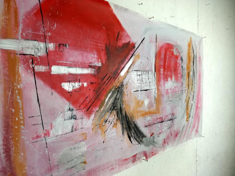 quadro astratto b27 - quadri astratti fatti a mano 120x60