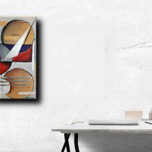 quadro moderno geometrico1 b20 300x300 - quadri moderni fatti a mano 90x45