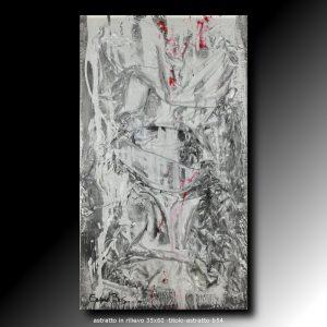 quadri moderni in rilievo 35x60 | sauro bos