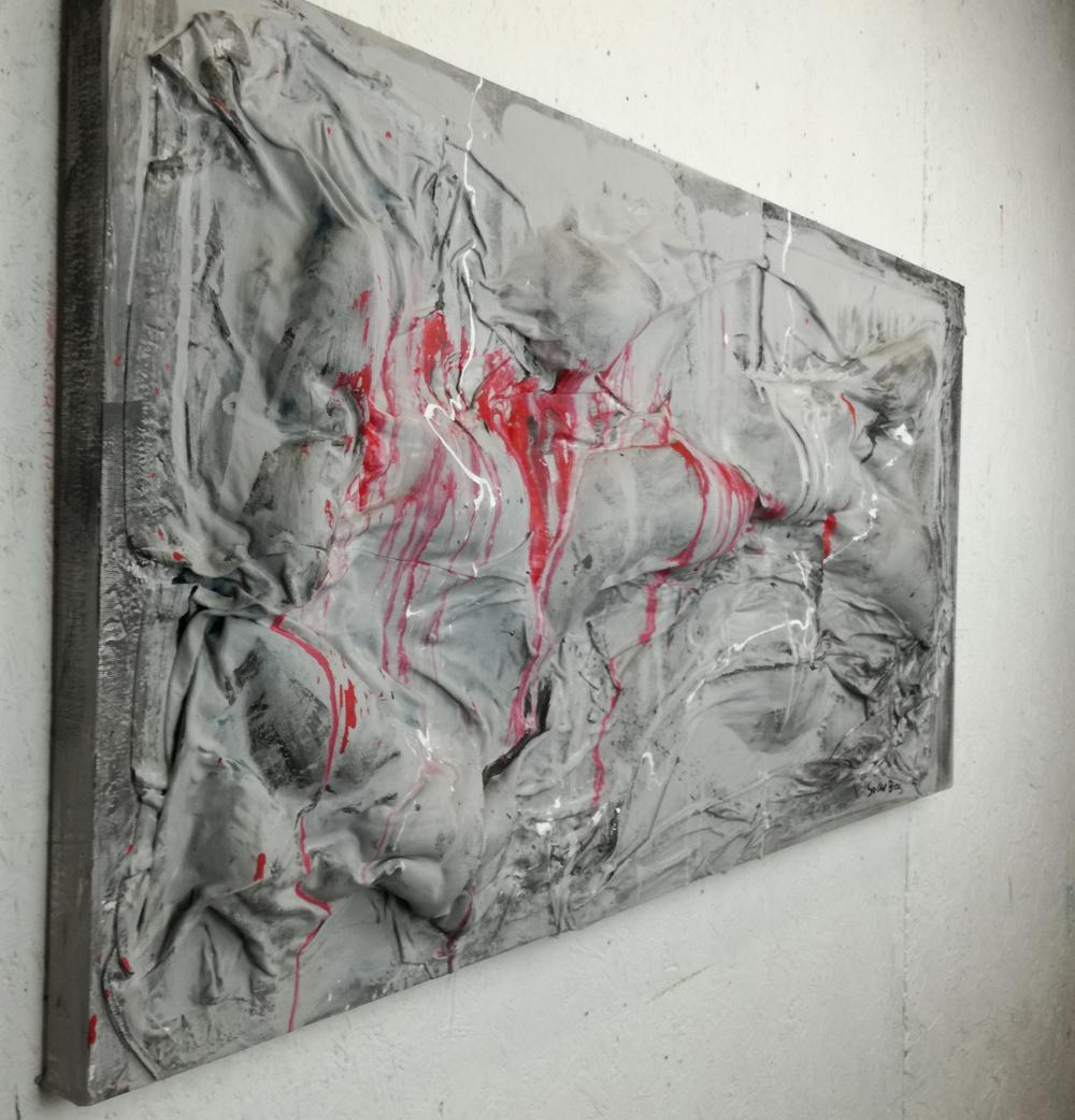 quadri moderni in rilievo 120x60 | sauro bos