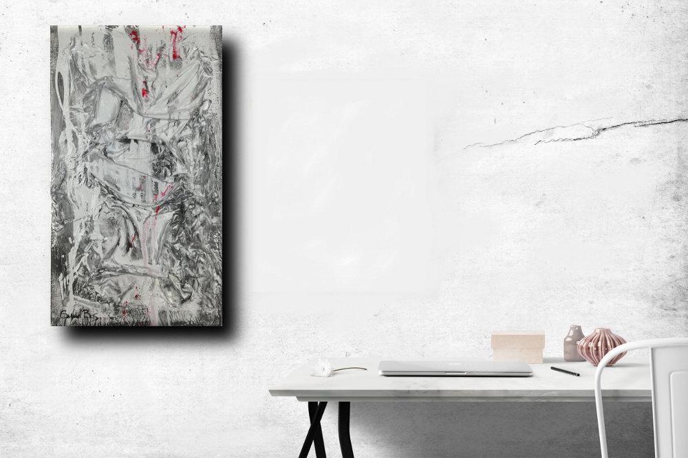 quadri moderni in rilievo 35x60 sauro bos