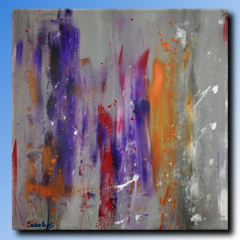 dipinti ad olio moderni sauro bos
