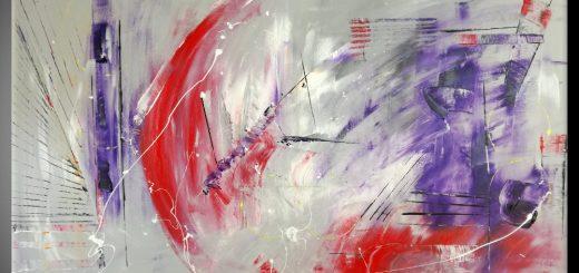 quadro astratto b67 520x245 - dipinti colorati moderni
