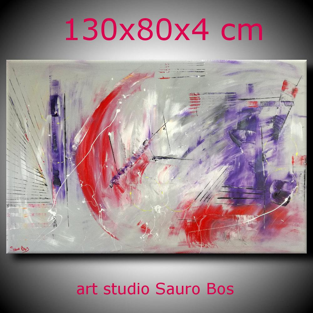quadro astratto b67 - dipinti colorati moderni