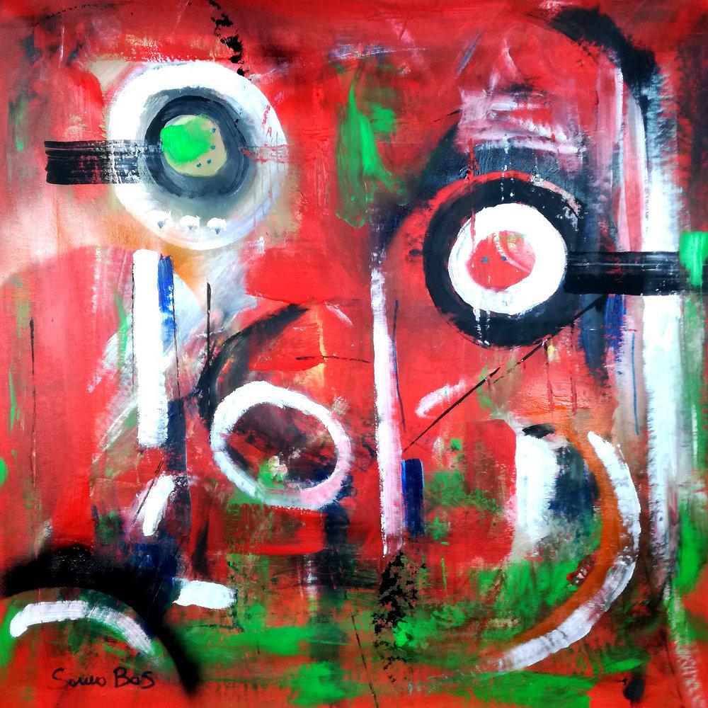 dipinti moderni colorati