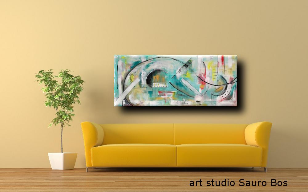 dipinti moderni su tela b69 - dipinti astratti fatti a mano 120x60 xxl (Copy)