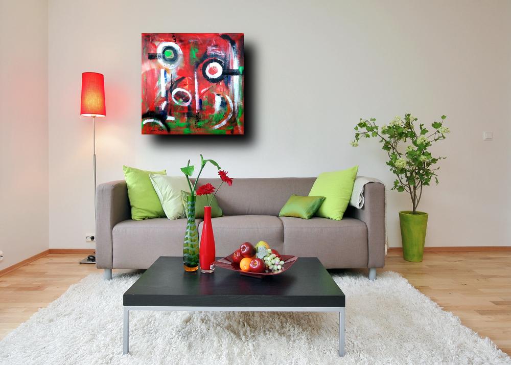 quadri moderni astratti colorati b71 - quadri astratti colorati 80x80