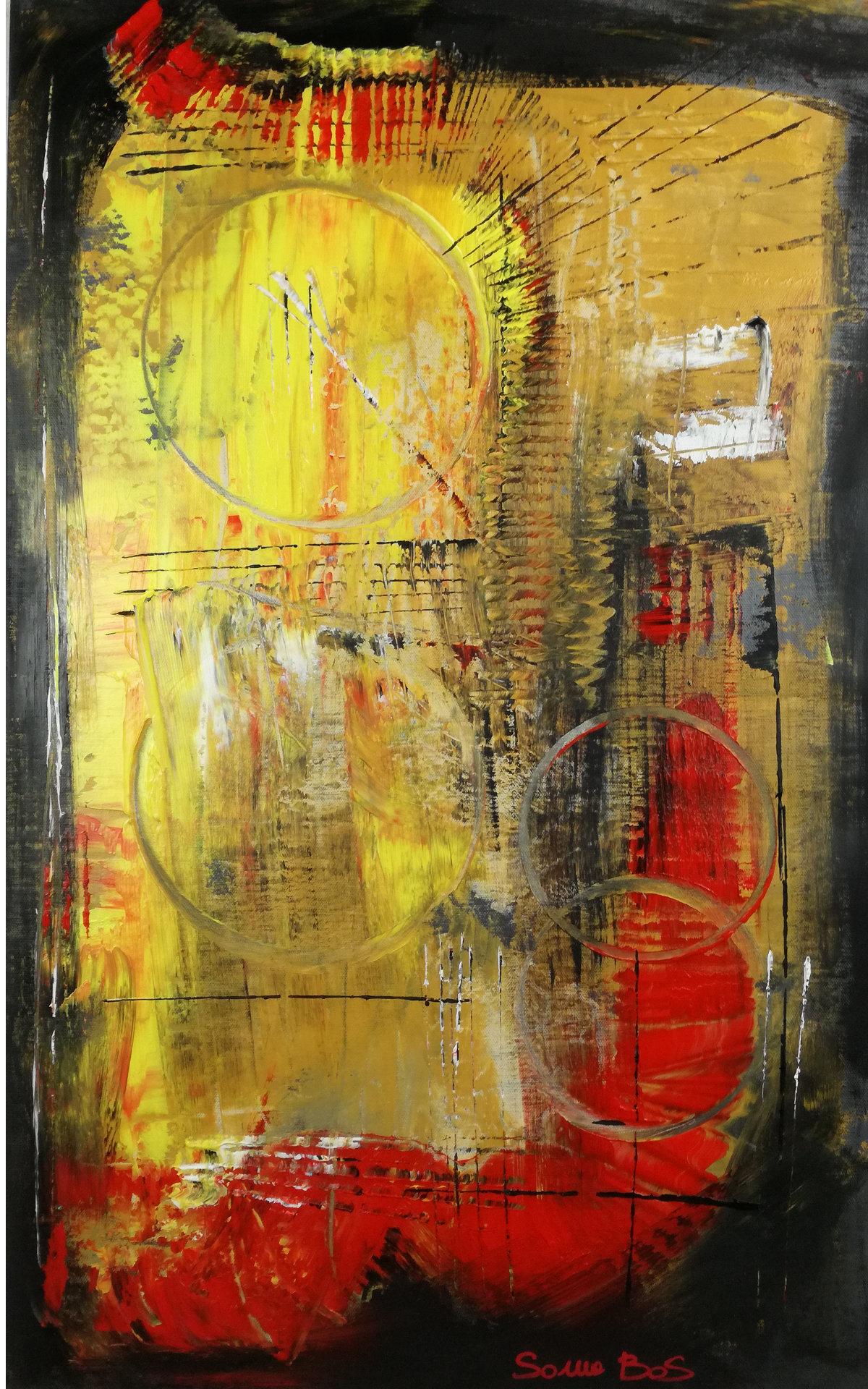 astratto c005 - dipinti moderni  fatti a mano 80x50