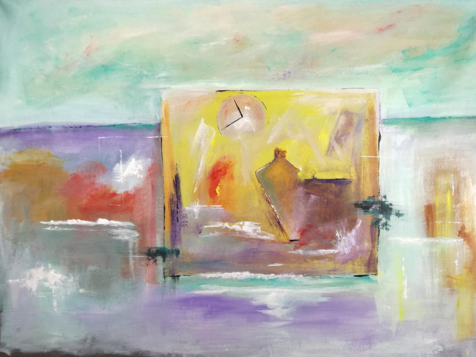 quadri moderni fatti a mano paesaggio-120x90 xxl c018 | sauro bos