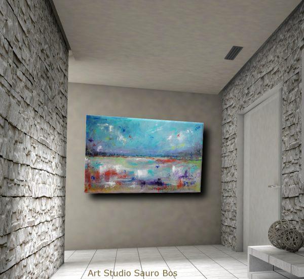 astratto paesaggio c008 600x550 - dipinti astratti paesaggio120x60