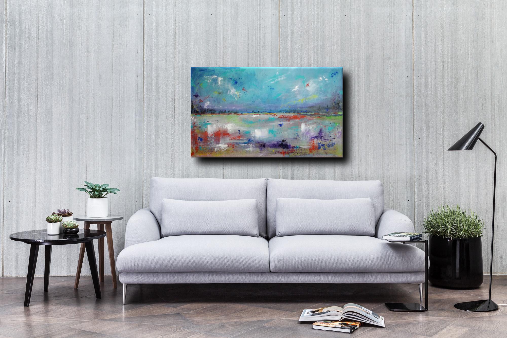 astratto paesaggio div c008 - dipinti astratti paesaggio120x60