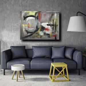 dipinti astratti moderni c013 300x300 - quadri moderni per arredamento contemporaneo 120x90