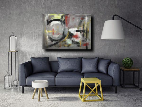 dipinti astratti moderni c013 600x450 - quadri moderni per arredamento contemporaneo 120x90