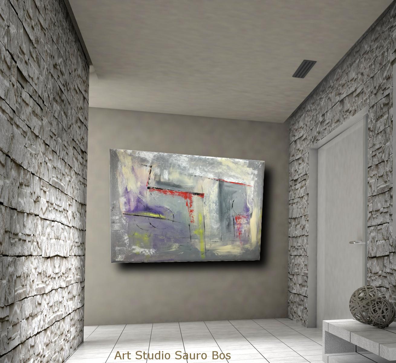 dipinti moderni su tela c016 - quadri moderni per arredamento contemporaneo 120x90