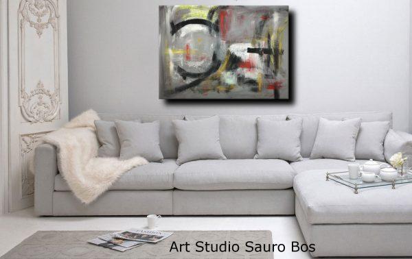 quadri astratti arredamento moderno c013 600x378 - quadri moderni per arredamento contemporaneo 120x90