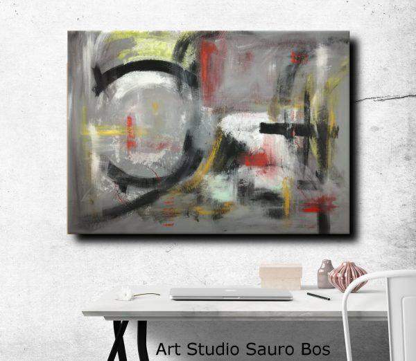 quadri astratti fatti a mano c013 600x522 - quadri moderni per arredamento contemporaneo 120x90