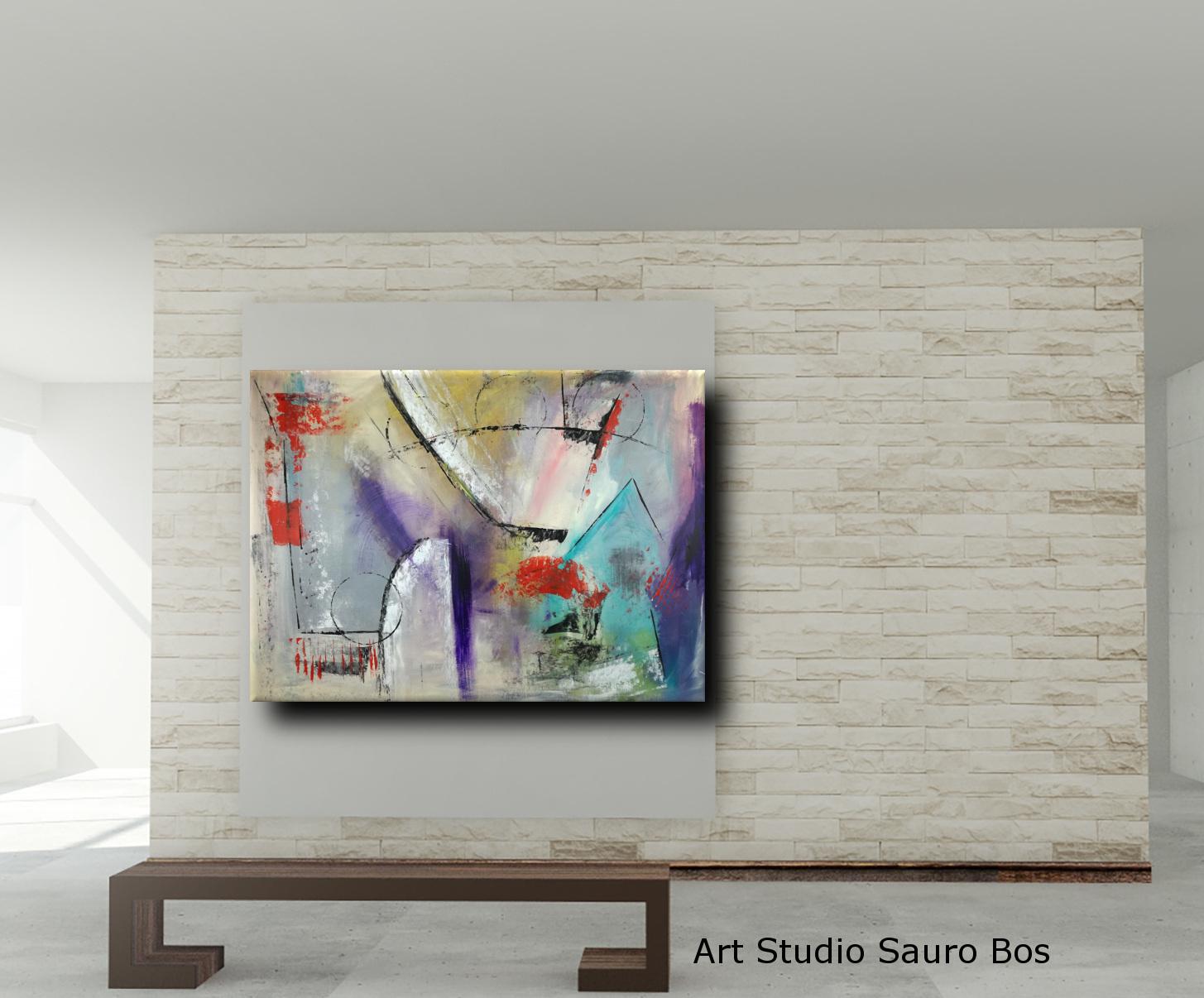 quadri astratti moderni c015 - quadri moderni per arredamento contemporaneo
