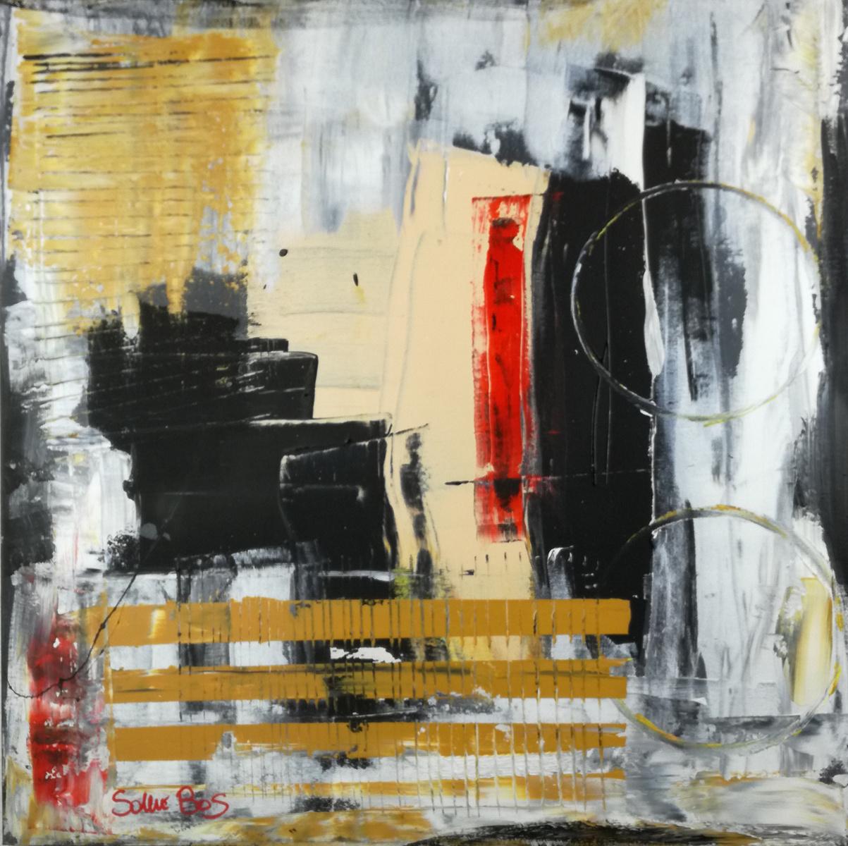 quadri dipinti a mano astratti c006 - quadri moderni  fatti a mano 70x70