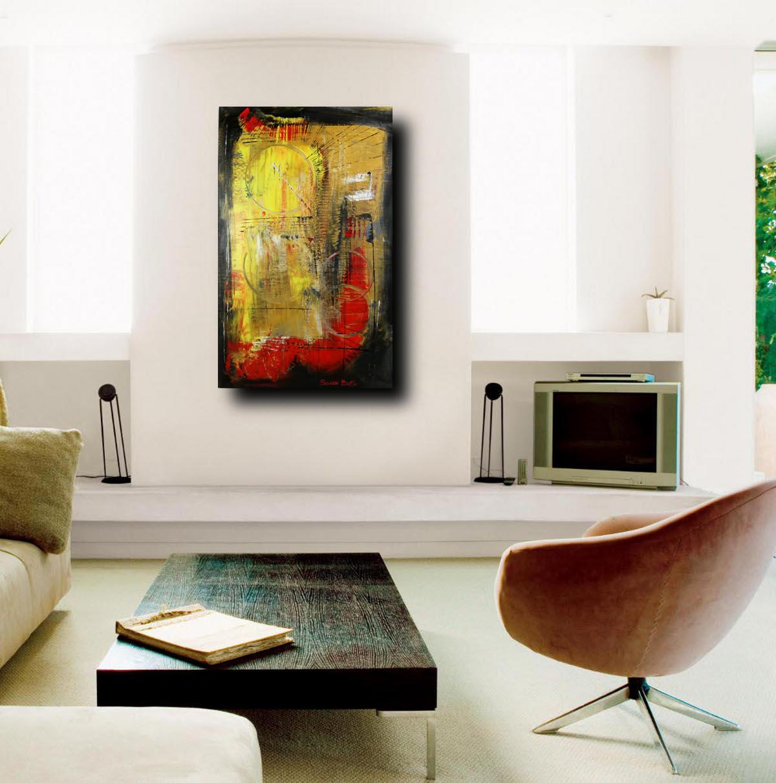 quadri dipinti a mano c005 - dipinti moderni  fatti a mano 80x50