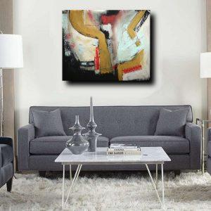 quadri moderni fatti a mano c010 300x300 - dipinti astratti fatti a mano 120x90 xxl