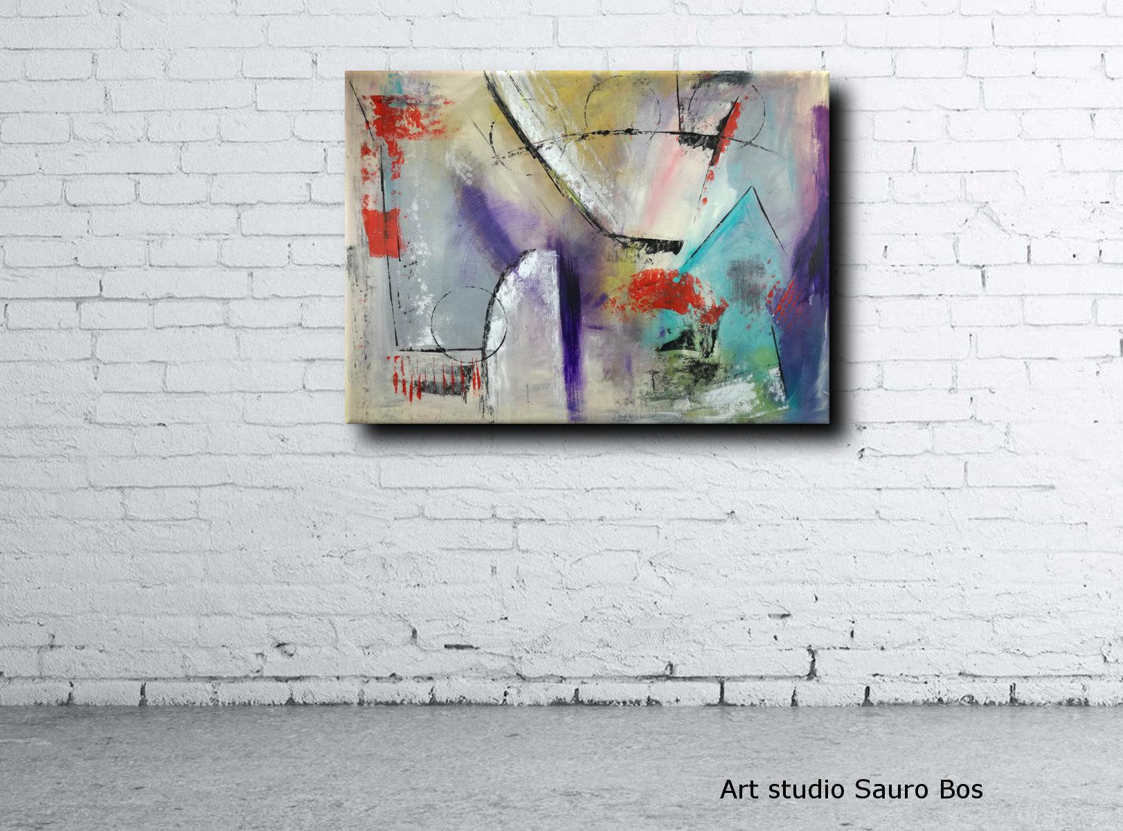 quadri moderni muro c015 - quadri moderni per arredamento contemporaneo