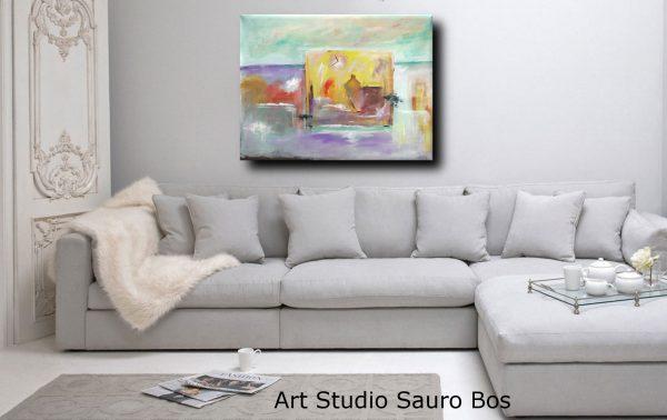 quadri moderni paesaggio 018 600x378 - quadri moderni fatti a mano paesaggio-120x90 xxl c018