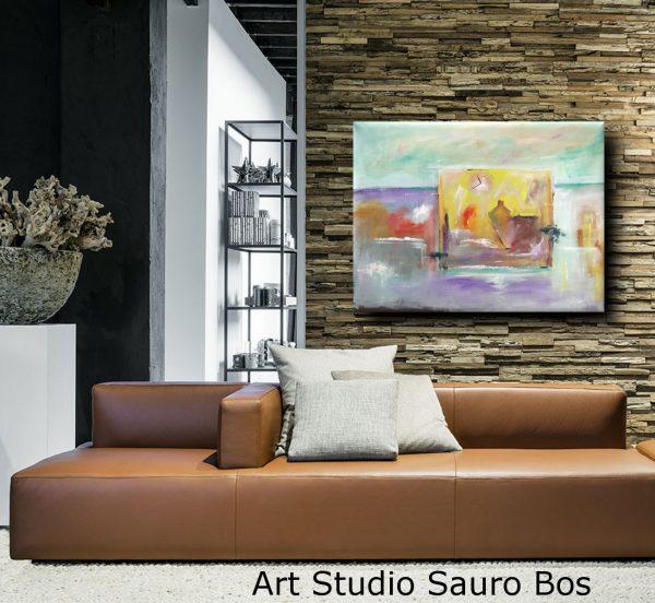 quadri moderni su tela paesaggio c018 600x552 - quadri moderni fatti a mano paesaggio-120x90 xxl c018