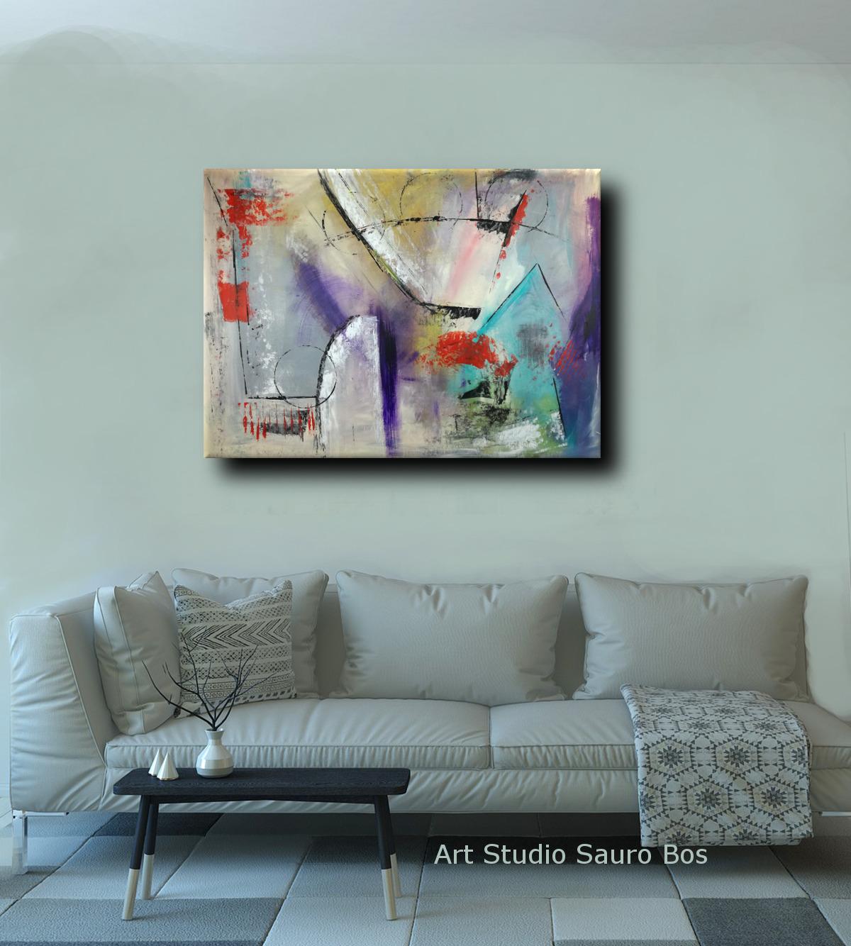 quadri moderni per arredamento contemporaneo sauro bos