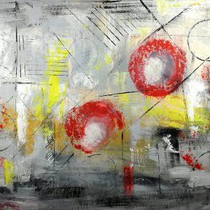 quadri astratti informali per soggiorno 150x100 | sauro bos