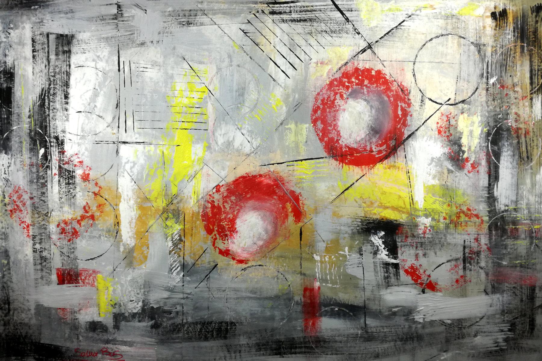 quadro astratto su tela c007 - quadri astratti informali per soggiorno 150x100
