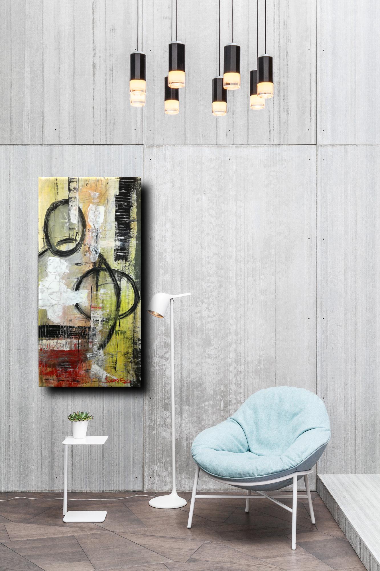 astr c028 - dipinti moderni  fatti a mano 70x35olio su tela
