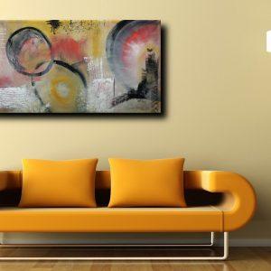 astratto c035 div 300x300 - dipinto astratto 120x70 per soggiorno con cornice oro