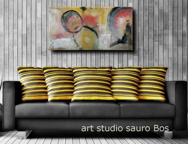 astratto c035 divgiallo 600x458 - dipinto astratto colorato 120x60