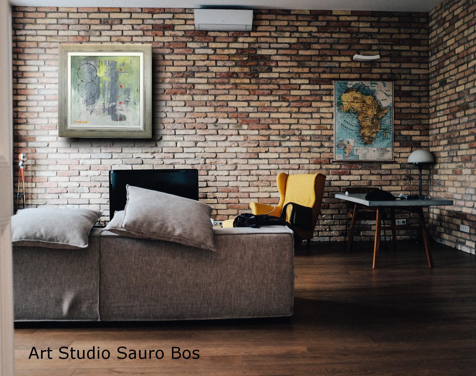 astratto chiaro c019 1 - quadro-astratto-con-cornice-moderna-chiarista